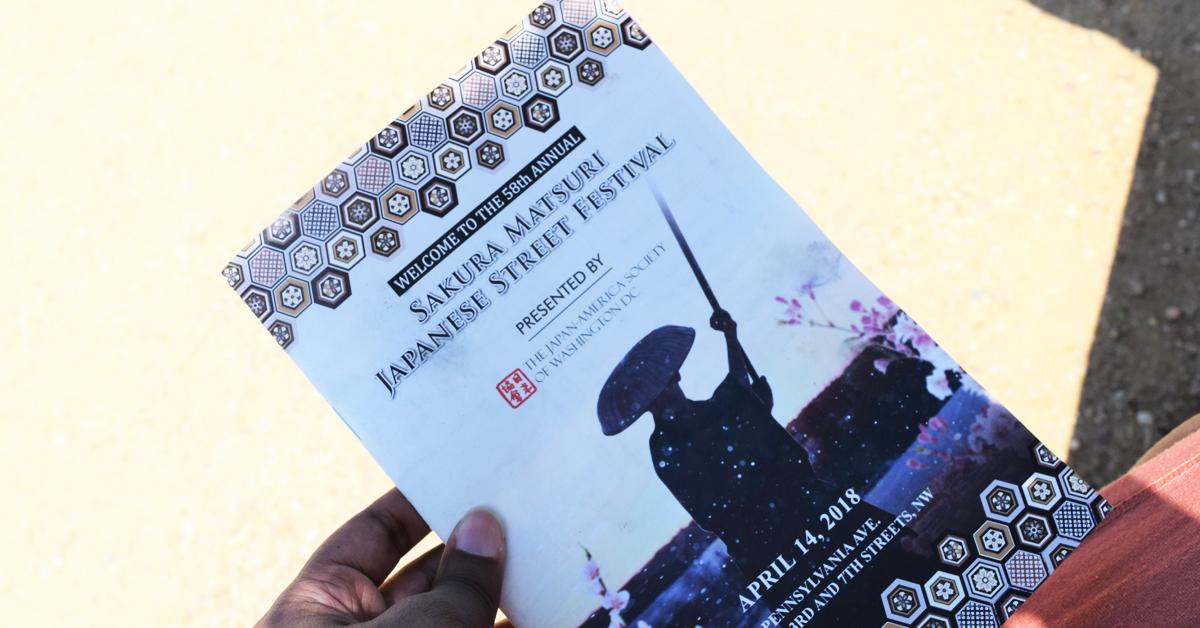 Welcome to the 58th Annual Sakura Matsuri Japanese Street Festival in Washington D.C.