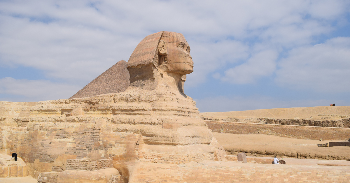 The Great sphinx of Egypt taken in Cairo