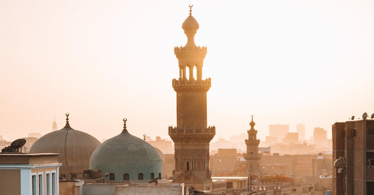 City view of Cairo, Egypt