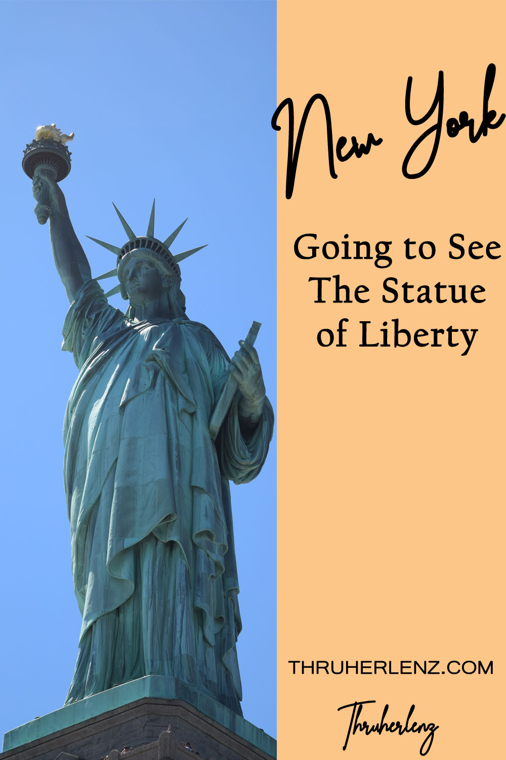 Going to See the Statue of Liberty