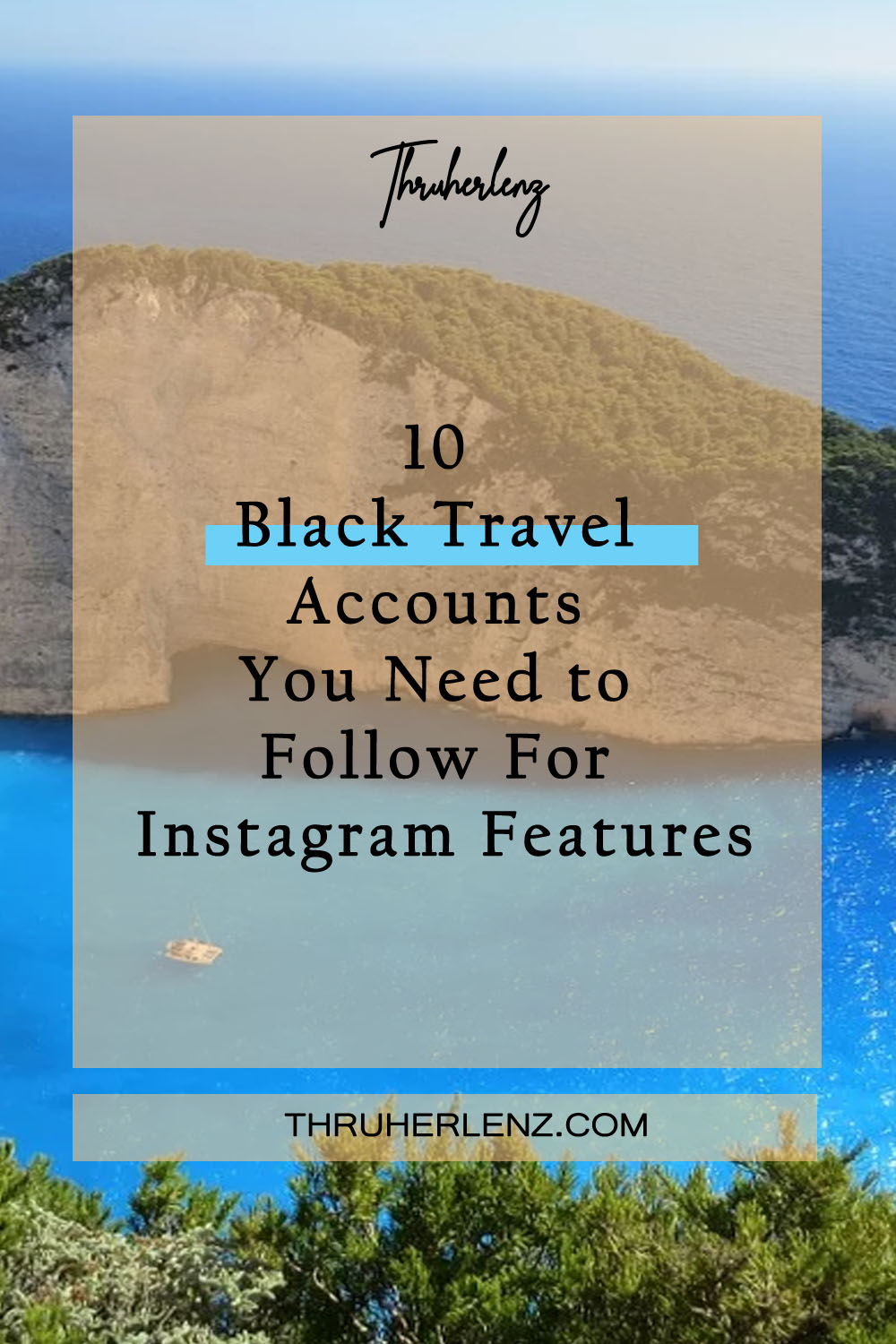10 Black Travel Accounts You Need to Follow for Instagram Features