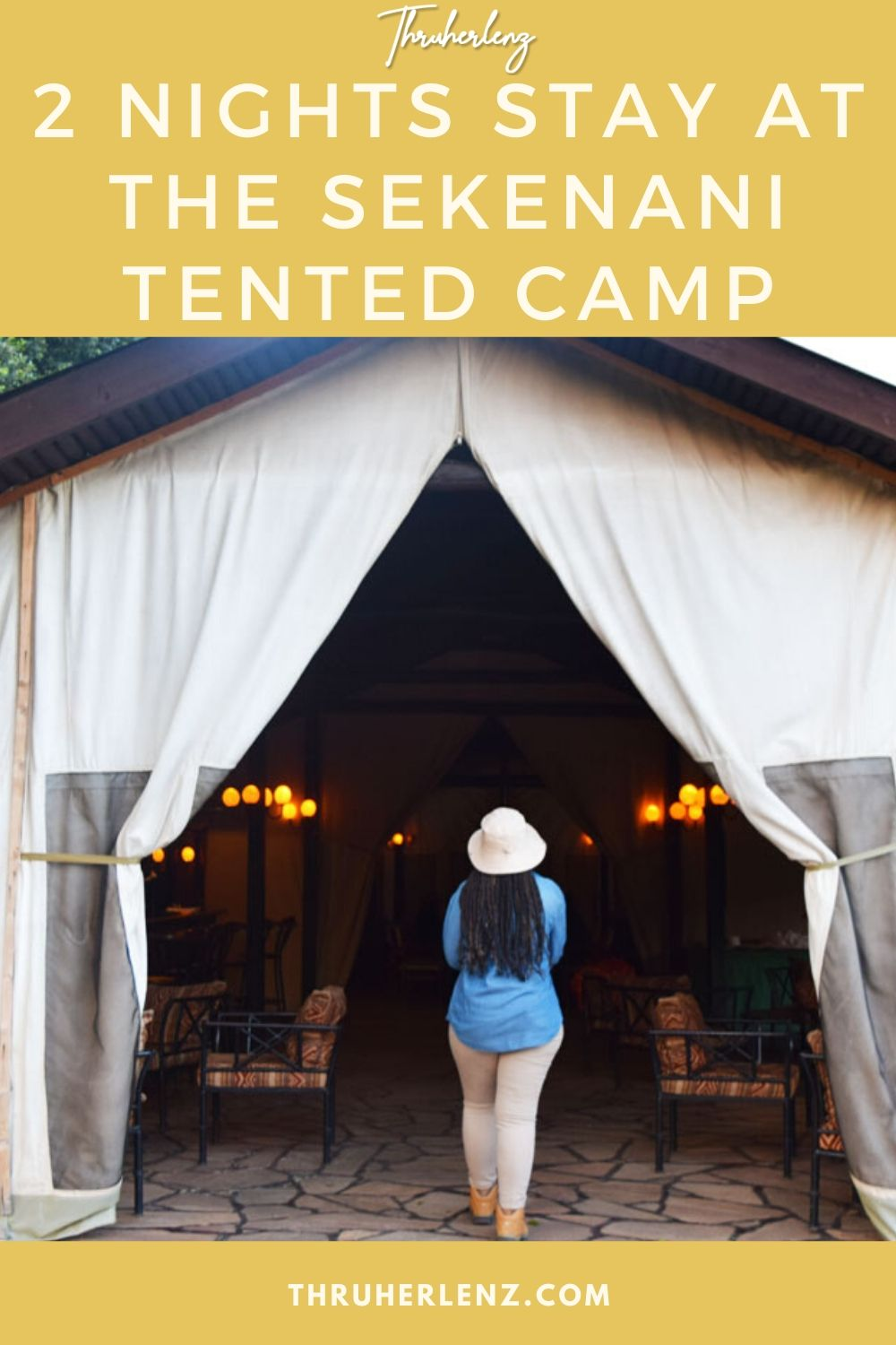 2 Nights Stay at the Sekenani Tented Camp
