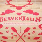 BeaverTails Logo Sign at Downtown Toronto Location