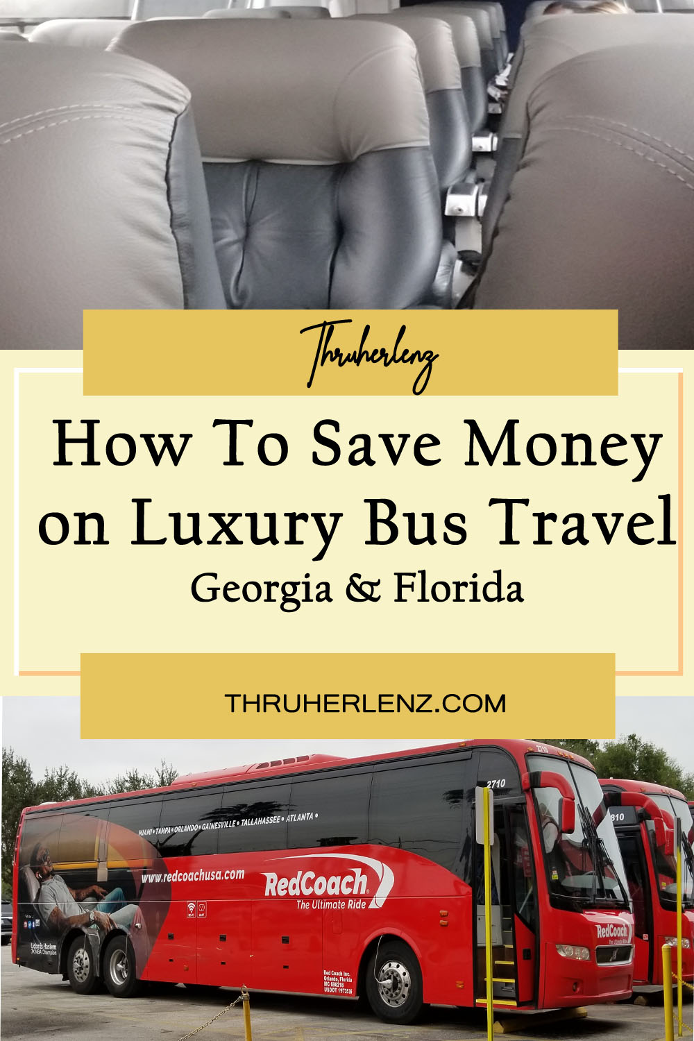 How To Save Money on Luxury Bus Travel From Georgia to Florida