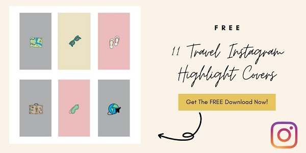 11 Free Travel Instagram Highlight Icon Covers