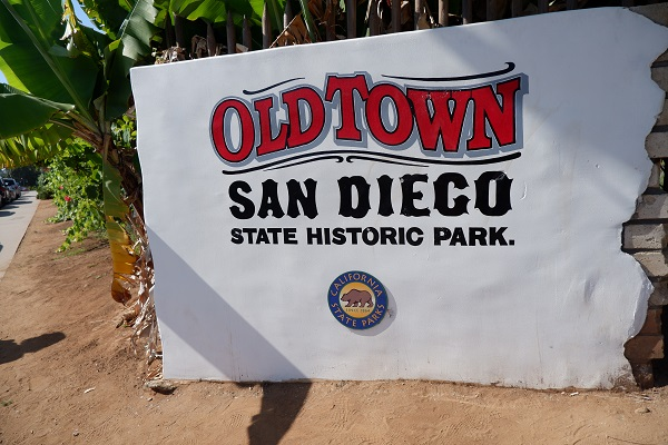 Old Town San Diego State National Park in California