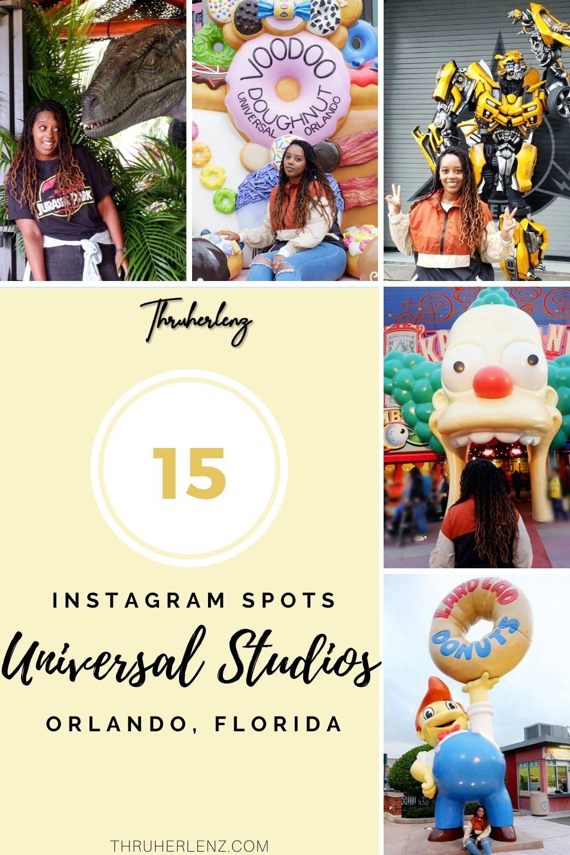 15 of the Best Instagram Spots at Universal Studios in Orlando