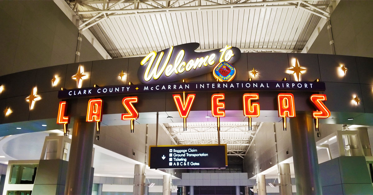 Welcome to Las Vegas Clarke County McCarran International Airport