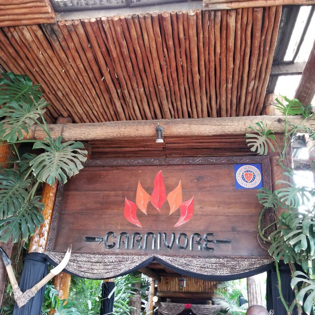 Popular affordable Tourist Restaurant in Nairobi, Kenya Dinner for two for $50 a day budget