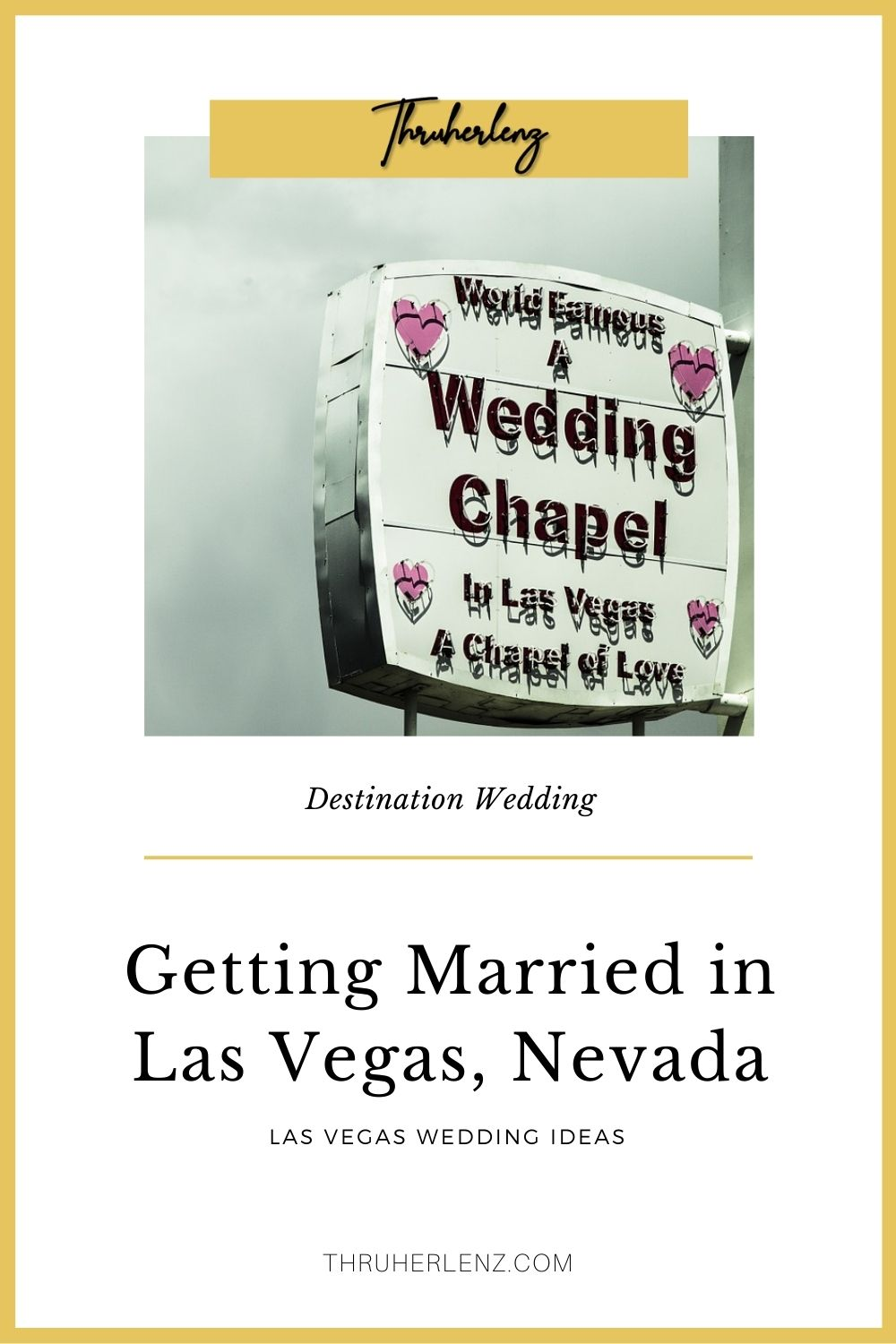 Las Vegas; City of a Thousand Ways to Get Married.