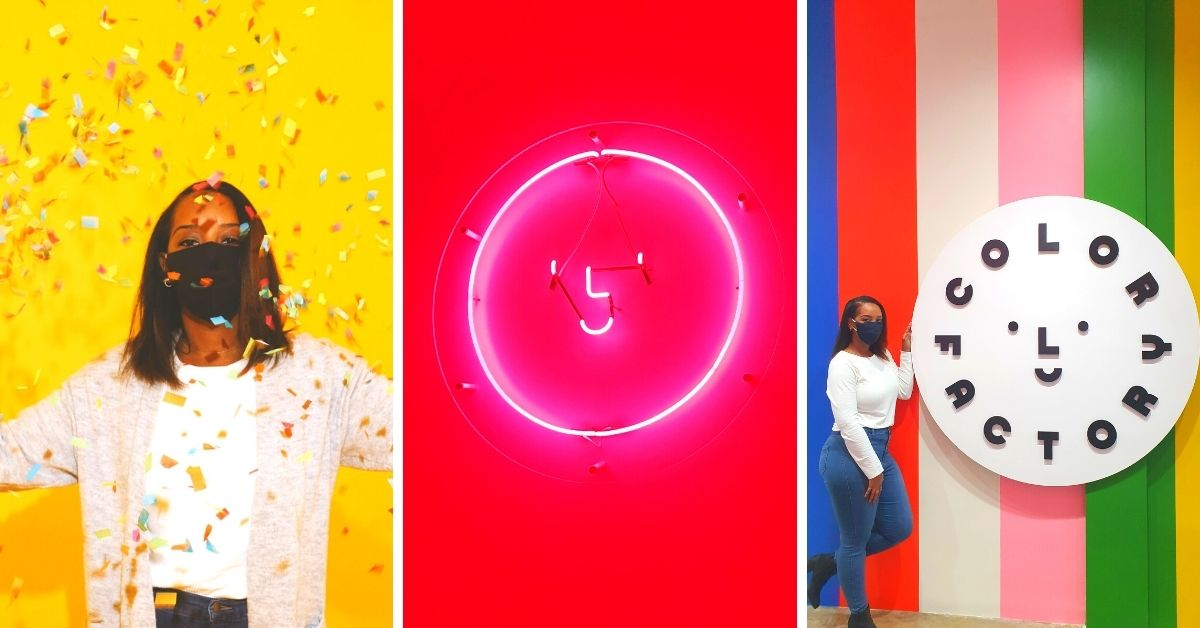 Why You Should Visit the Houston Color Factory Museum Solo for Some Colorful Fun