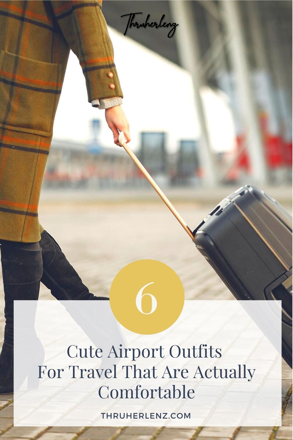6 Cute Airport Outfits For Travel That Are Actually Comfortable